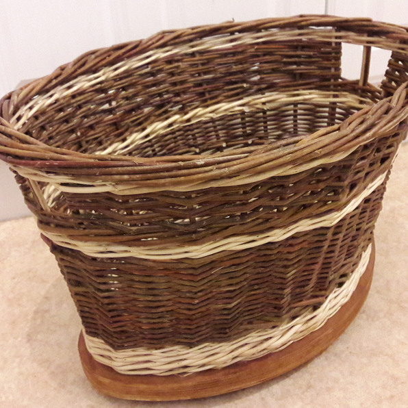 Basketry - Log Basket