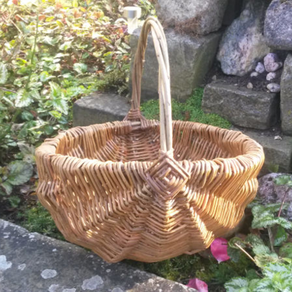 Basketry: Framed Berry basket